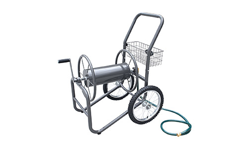The Liberty Garden Products 880-2 2-Wheel Garden Hose Reel Cart