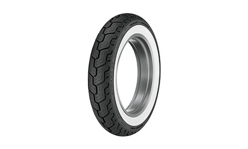 D402 Harley-Davidson Wide Whitewall Rear Tire MU85B-16