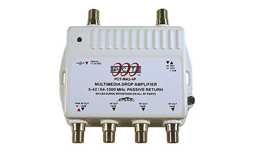4 port cable TV/HDTV/Digital amplifier