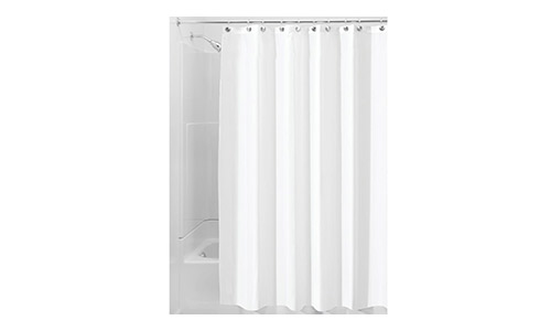 InterDesign Waterproof Fabric Shower Curtain
