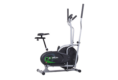 Body Max presents Body Rider BRD2000 Exercise Bike and Elliptical Trainer with Seat