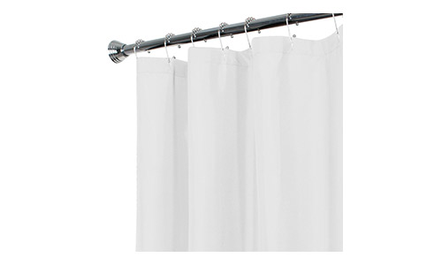 Maytex Water Repellent Fabric Shower Liner