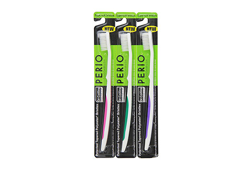 Dr. Collins presents Pack of 3 Perio Toothbrush for Braces