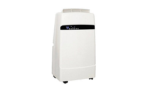 Whynter 12,000 BTU Dual Hose Portable Air Conditioner, Frost White (ARC-12SD)