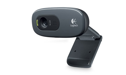 Logitech 960-000694 C270 Widescreen HD Webcam and 3 MP designed for HD Video Calling and Recording