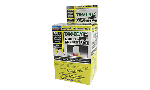 Motomco tomcat mouse and rat liquid concentrated