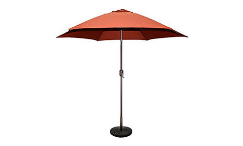 Tropishade 9 feet Bronze Aluminum Patio Umbrella