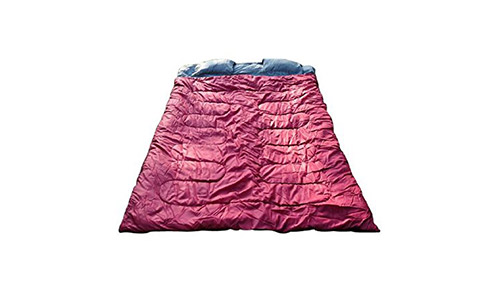 Outsunny Two-Person Double Wide Sleeping Bag