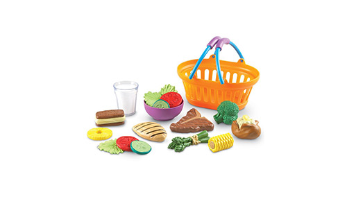 The Learning Resources New Sprouts Dinner Food Basket