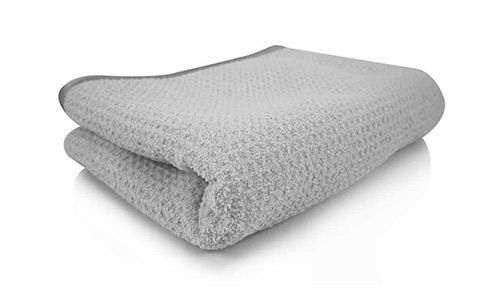 Chemical Guys MIC_781_01 Waffle Weave Gray Matter Microfiber Drying Towel
