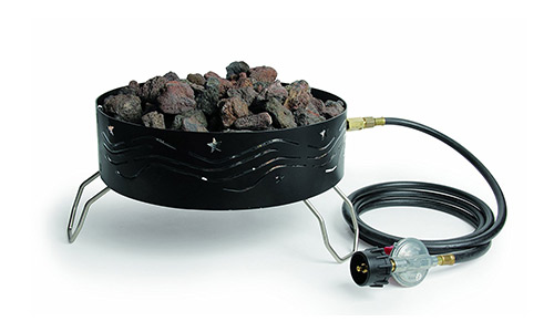 Camco portable propane pit outdoor