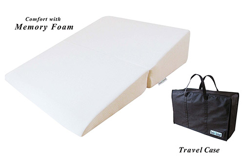 InteVision folding wedge bed pillow
