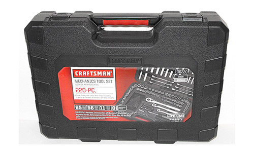 Craftsman 220 pc. Mechanics Tool Set with Case, # 36220 (Newest Version)