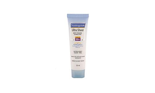 Neutrogena Ultrasheer Dry-touch Sunblock