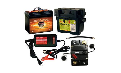 VMAXTANKS Boat Battery Kit