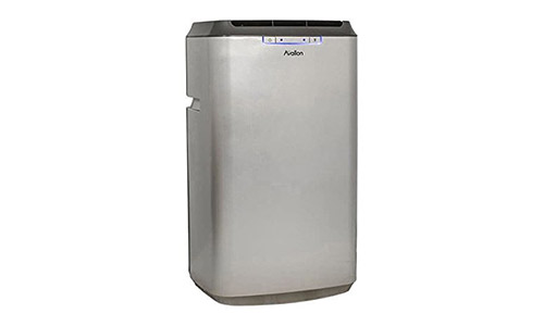 Avallon APAC120S Portable Air Conditioner with Dehumidifier and Fan for Rooms up to 425 Sq. Ft. with Remote Control