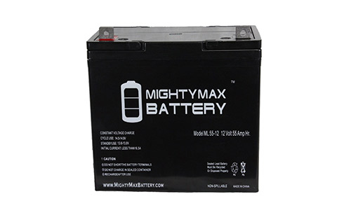 Mighty Max Electric Trolling Motor Battery