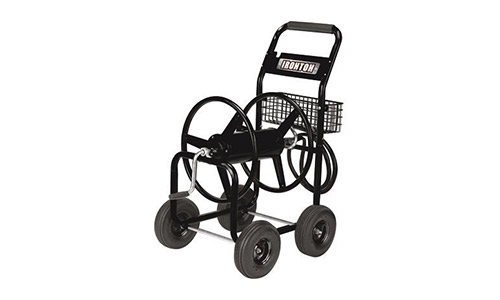 The Ironton Garden Hose Reel Cart