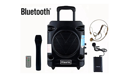 Hisonic Rechargeable & Portable PA System
