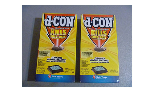 D-CON rat and mouse bait pellets