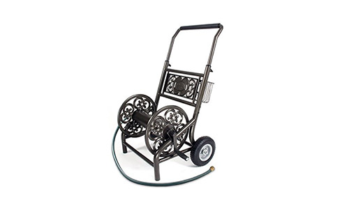 The Liberty Garden Products 301 2-Wheel Garden Hose Reel Cart