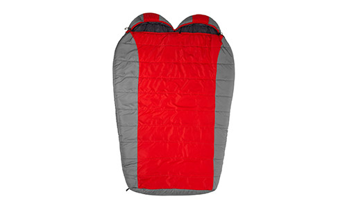 TETON Sports Tracker Double-Wide Sleeping Bag Perfect for Camping, Hiking, and Backpacking; Free Compression Sack Included