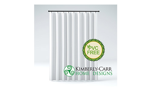 Kimberly-Carr Home Designs Shower Curtain Liner