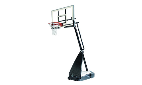 Spalding Glass Portable Basketball System