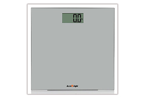 AccuWeight Digital Bathroom Scale Model AW-BS001BS