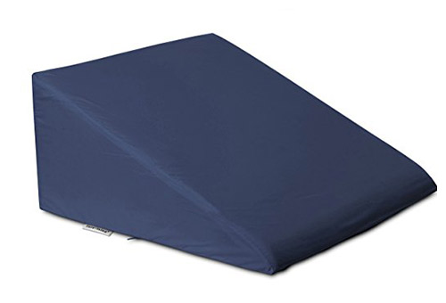 Intevision foam wedge pillow with Egyptian cotton cover
