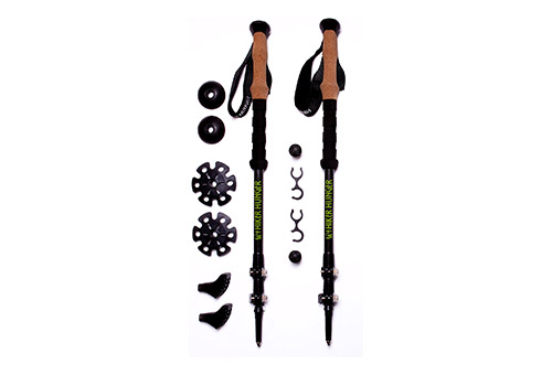 Hiker Hunger Ultralight, Telescopic Carbon Fibre Hiking Poles