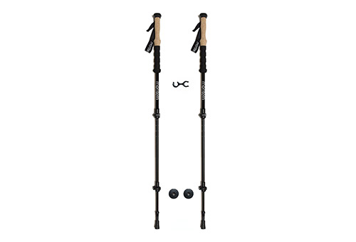 Montem Premium Quality Ultra-Strong Pair of Hiking Poles