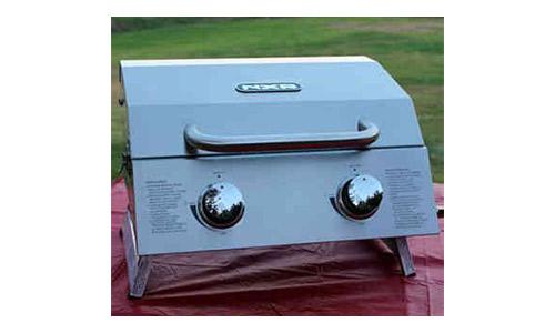 NXR 2 Burner Portable Propane Gas Grill