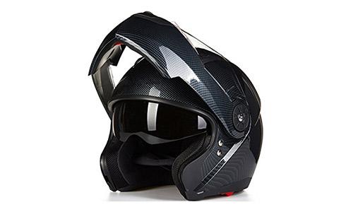 ILM Modular Flip up Dual Visor Helmet