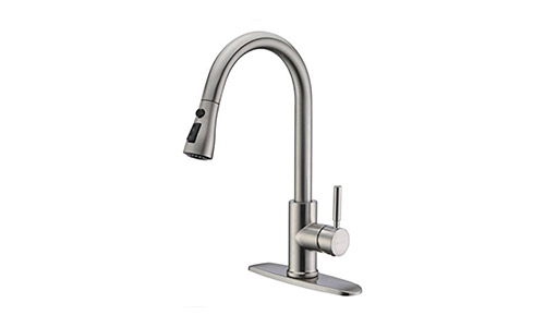 WEWE Single Handle High Arc Kitchen Faucet