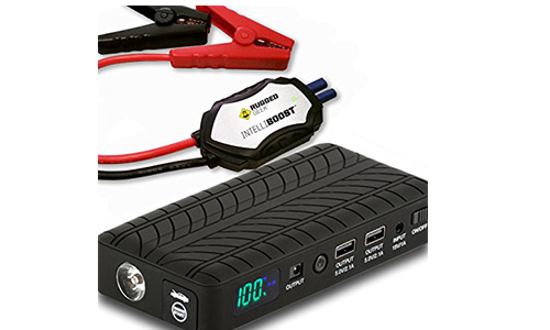 Rugged Geek RG1000 Safety 1000A Portable Car Jump Starter