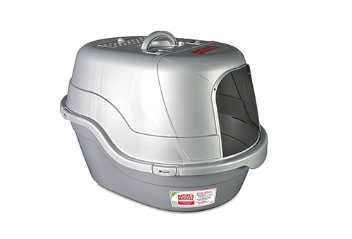 Nature's Miracle Oval Flip Top Litter Box