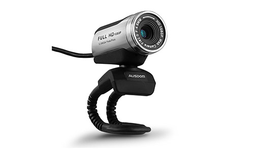 AUSDOM Web Camera AW615 , 1080P Webcam with Microphone, Video Calling and Recording for Computer, Laptop and Desktop