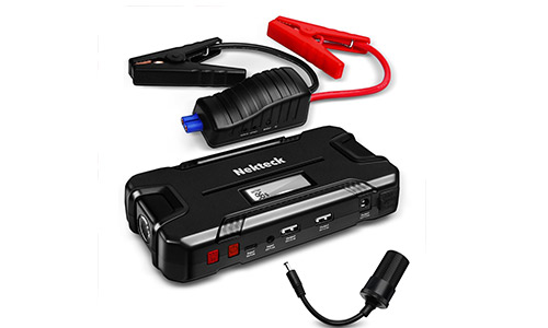 Nekteck Car Jump Starter Portable Power Bank External Battery Charger 500A Peak with 12000mAh - Emergency Jump Pack