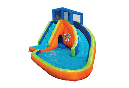 Banzai sidewinder falls inflatable water park