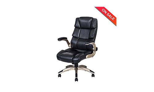 LCH Ergonomic High Back Leather Office Chair