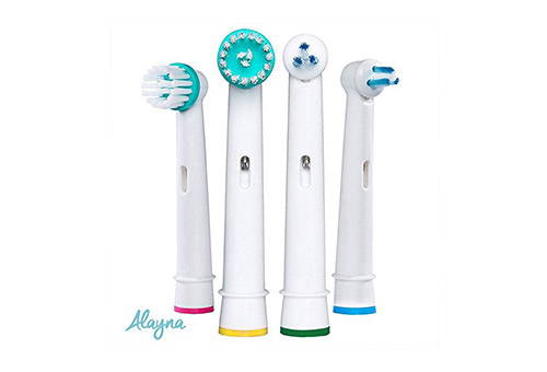 Alayna Premium Generic Oral B (FDA Approved) Orthodontic Toothbrush