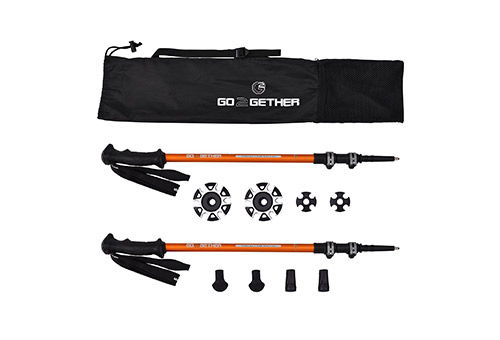 G2 GO2GETHER Pack of 2 Telescopic Hiking Poles