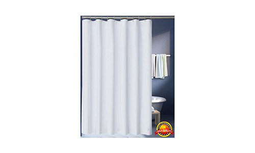 LanMeng Fabric Shower Curtain Liner
