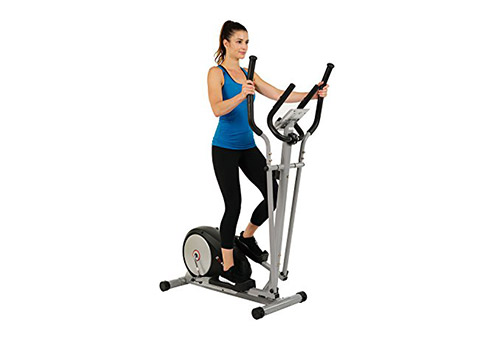 EFITMENT presents E006 Elliptical Machine with Pulse Rate Grips and LCD monitor