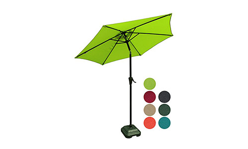 PATIOROMA 7.5 Feet Outdoor Patio Umbrella