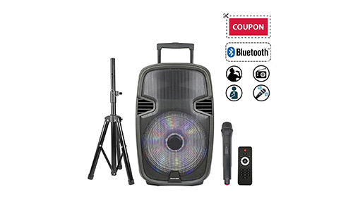 STARQUEEN Portable Outdoor PA Speaker System