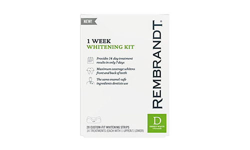 Rembrandt 1 Week Teeth Whitening Kit, 14 Treatments