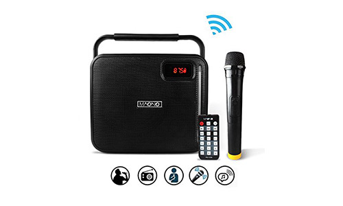 MAONO Wireless Microphone Karaoke Machine