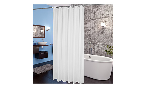 Aoohome Fabric Shower Curtain
